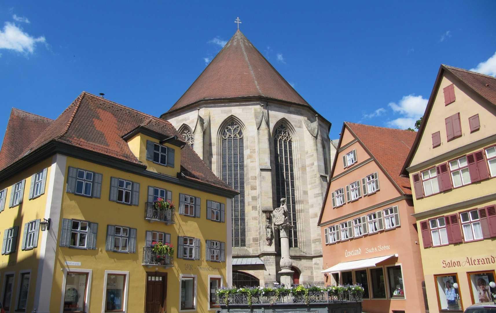 Dinkelsbühl - Urlaub in Bayern