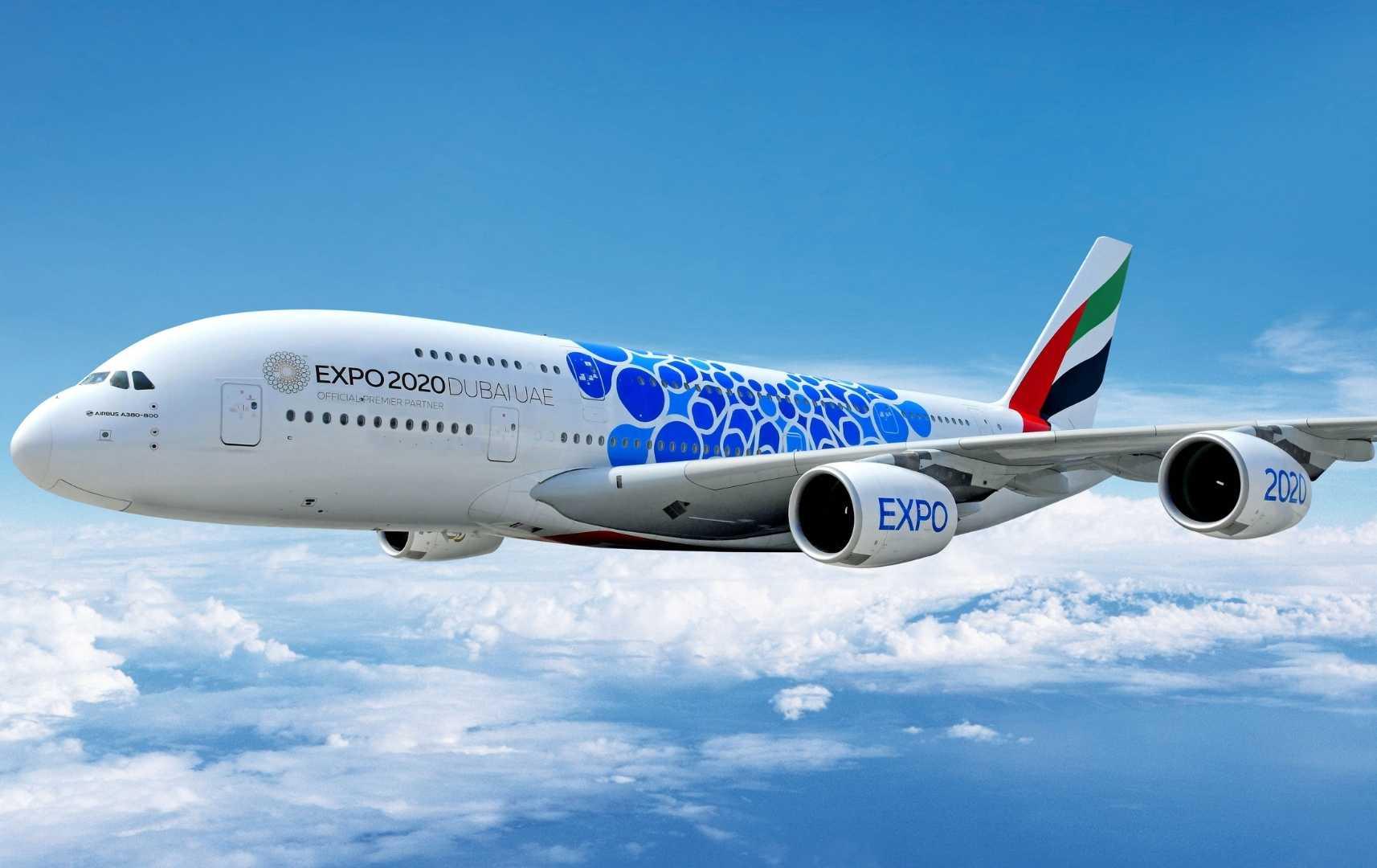 Emirates Expo 2020 Flieger