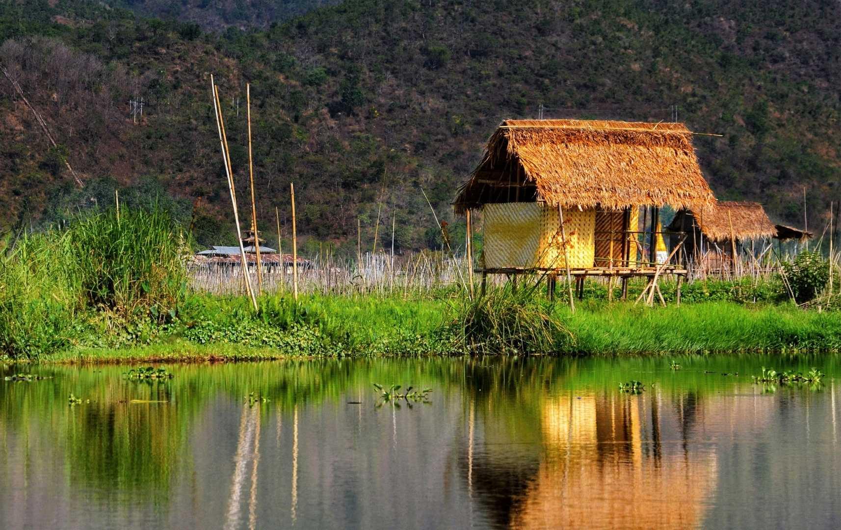 Haus am Inle See - Myanmar
