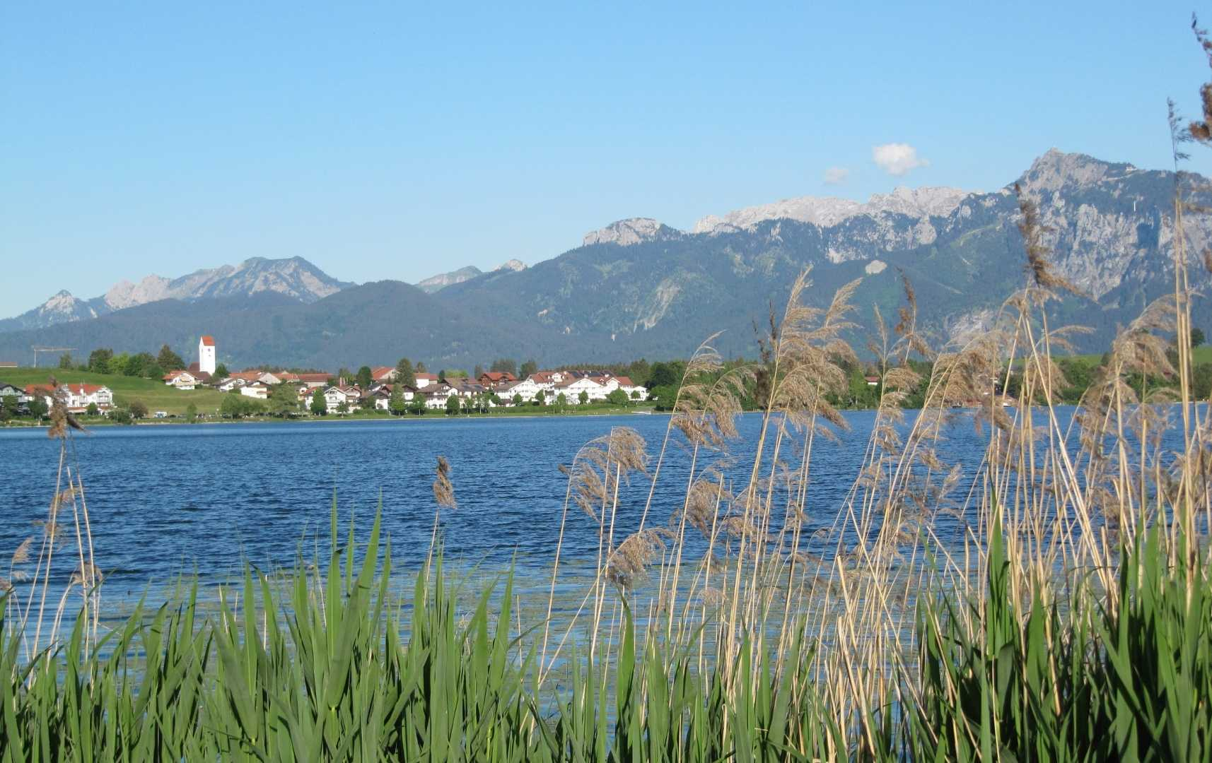 Hopfensee - Urlaub in Bayern