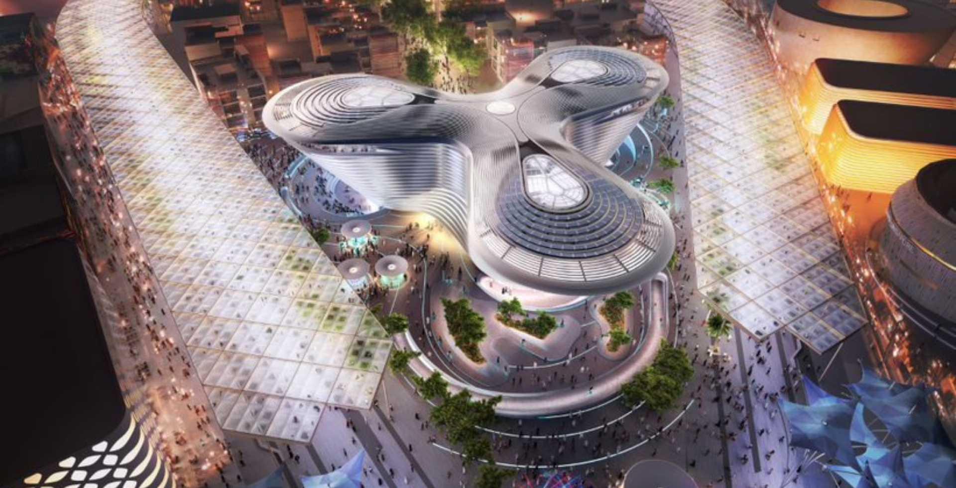 Pavillon auf der Expo 2020 Dubai