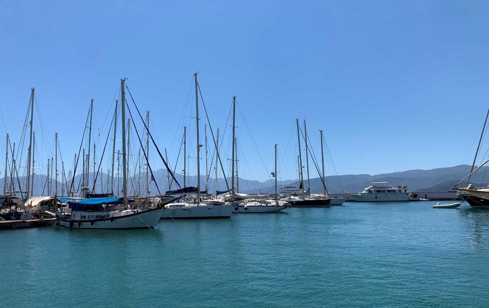 Segelboote - Kreta