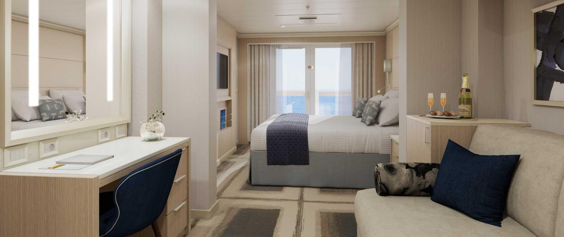 Vista Suite auf MS Rotterdam