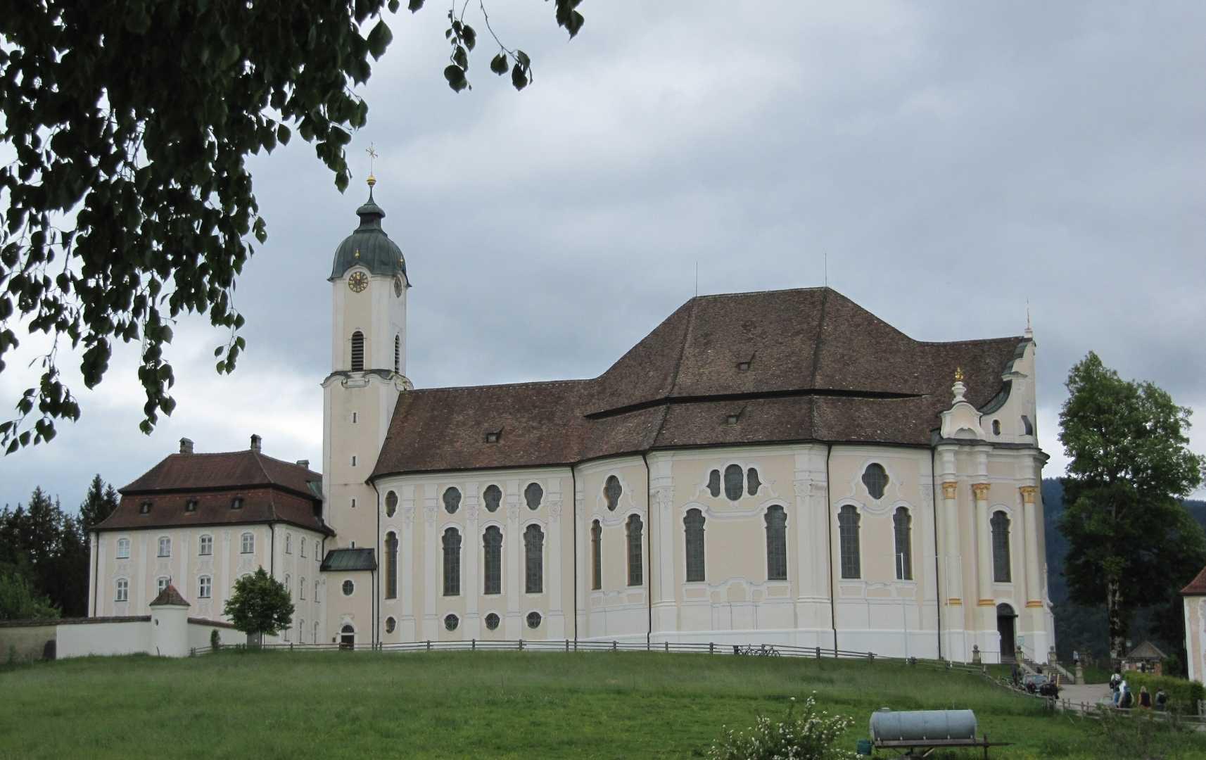 Wieskirche - Urlaub in Bayern